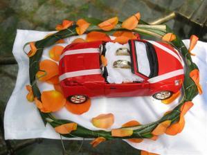 miláček je blázen do aut a tohle je super nápad, jen to musí být model BMW, snad mě synátor založí :o) Děkuji za inspiraci
