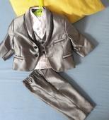 Chlapčenský oblek + košela - na 6mes. , 68