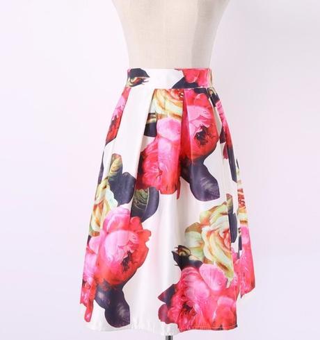 Midi Vintage sukňa -UNI- vel. XS/S/M - Obrázok č. 1