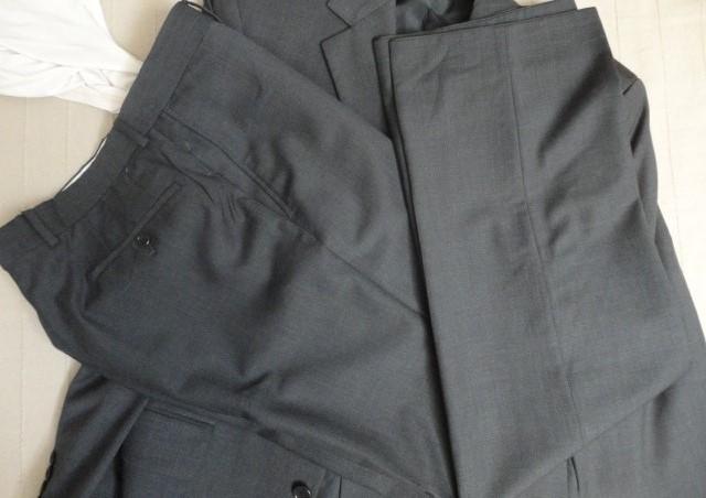 Pánsky šedý oblek -Hugo Boss- L - Obrázok č. 3