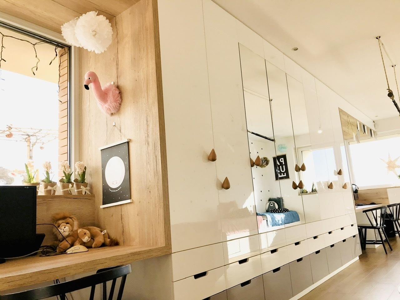 Naše L-ko - začiatok 4. roku bývania - Nový nábytok detská izba