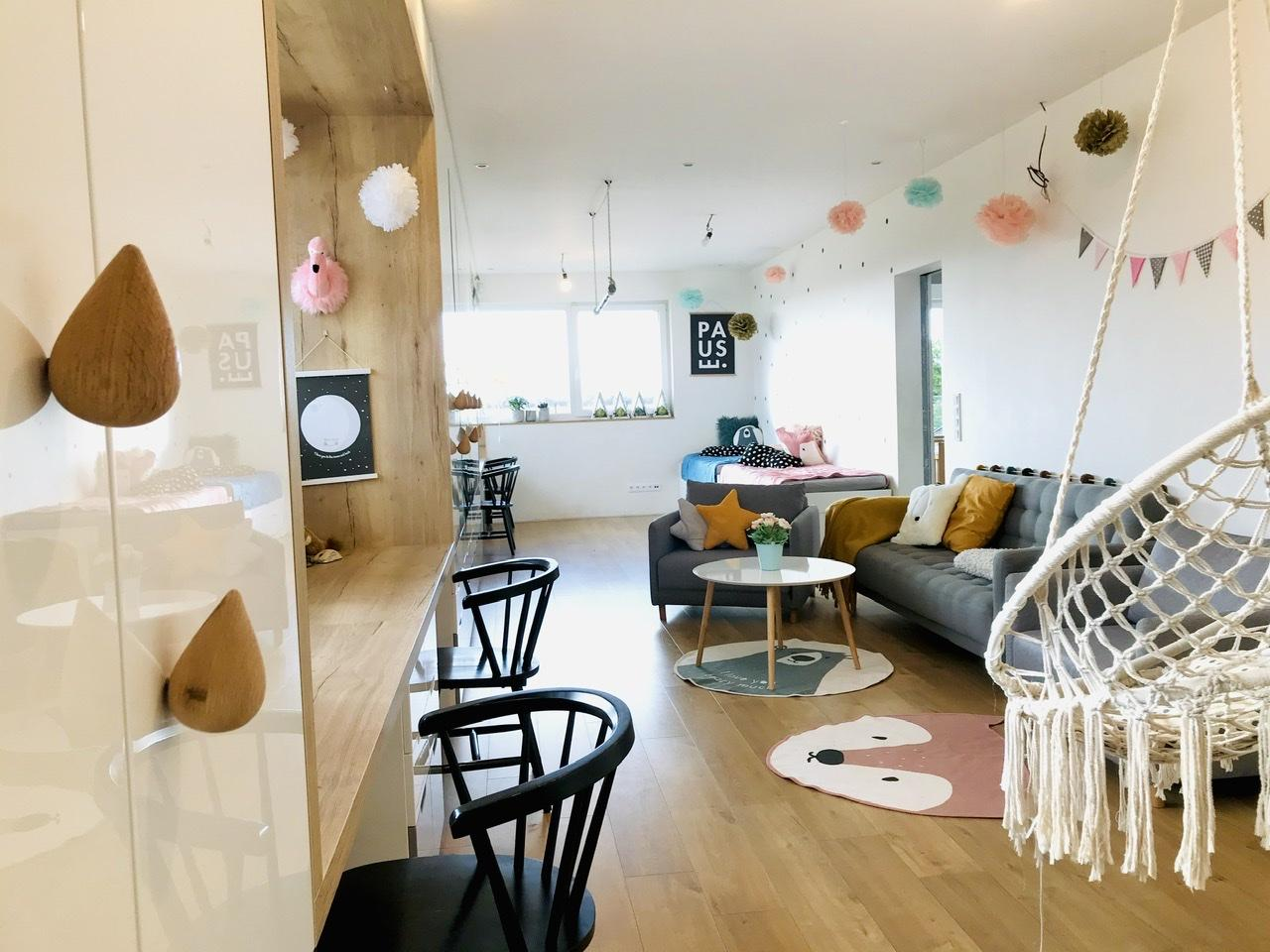 Naše L-ko - začiatok 4. roku bývania - Dokončený nábytok pre deti