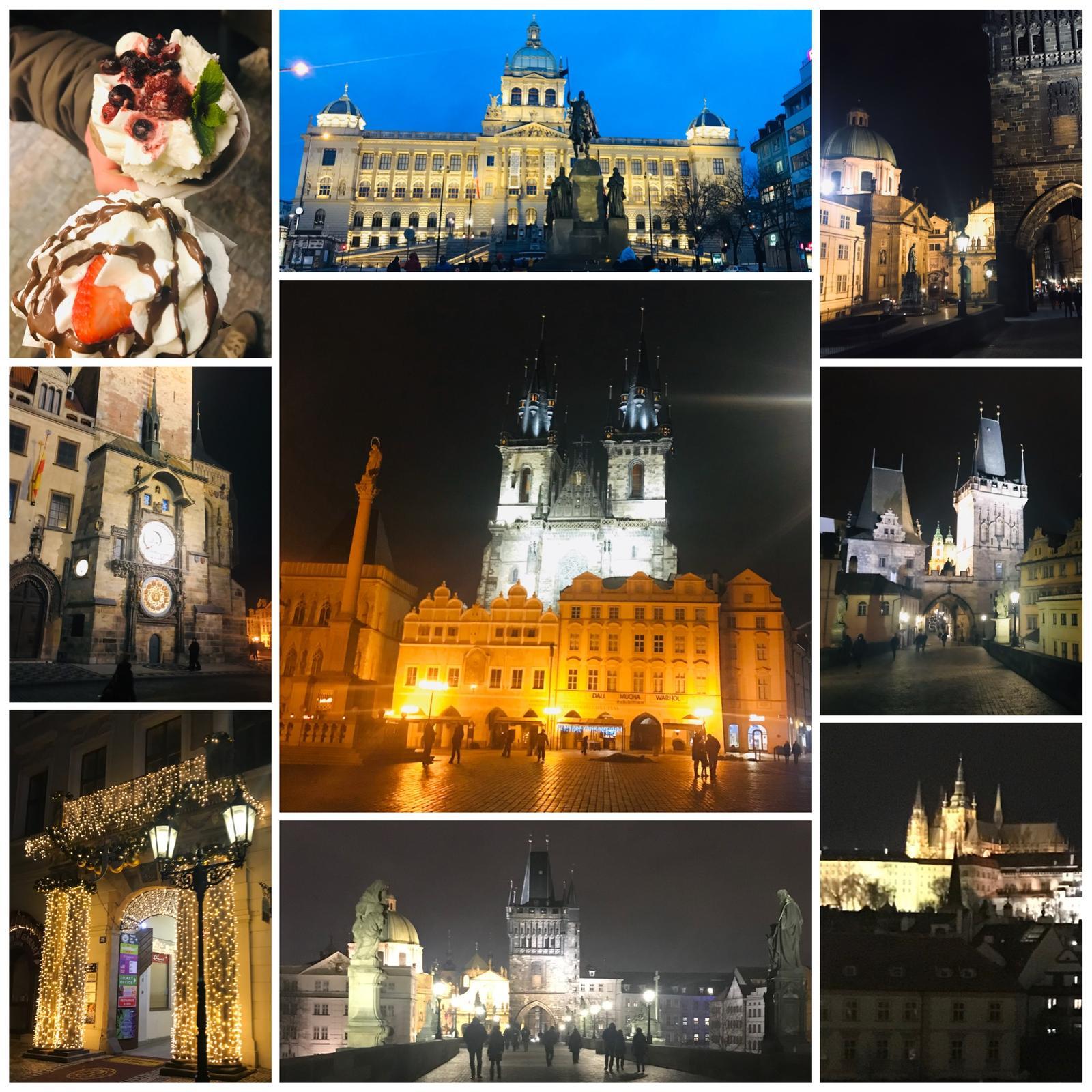 Naše L-ko - 2021 - stále dokončujeme - Krásný večer prajem, posielam pozdrav z nočnej Prahy