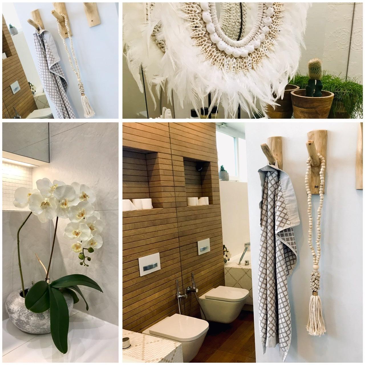 Naše L-ko - 2021 - stále dokončujeme - Kúpelňa a prírodné dekorácie