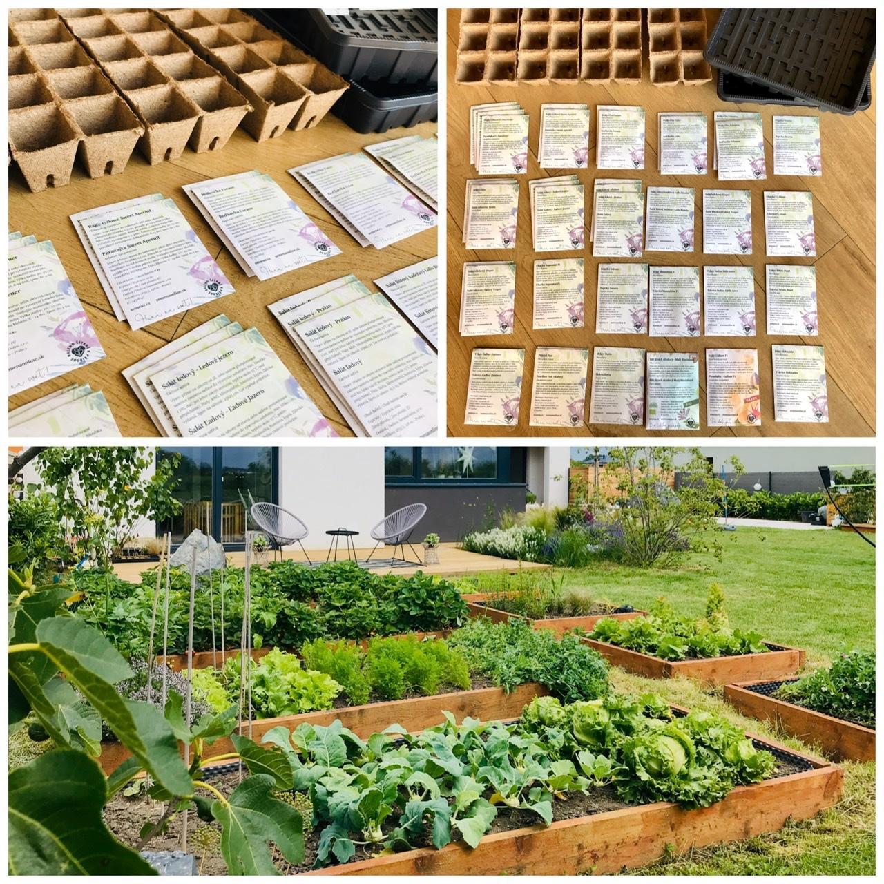 Naše L-ko - 2021 - stále dokončujeme - Semienka  nakúpené  a prvé už v zemi doma v teple :)) budu domáce planty. Teším sa už na to hrabanie sa v zemi a pestovanie šalátov, rajčín.... Dnes zryľovaná prvá hriadka v zvýšených záhonoch, cez víkend pojde prvá minivárka hrášku do zeme.
