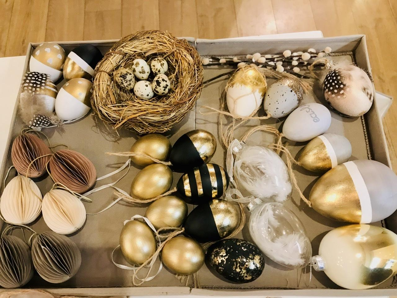 Naše L-ko - 2021 - stále dokončujeme - Pripravené vajíčka na zdobenie hlavne z minulých rokov :) Krásný víkend