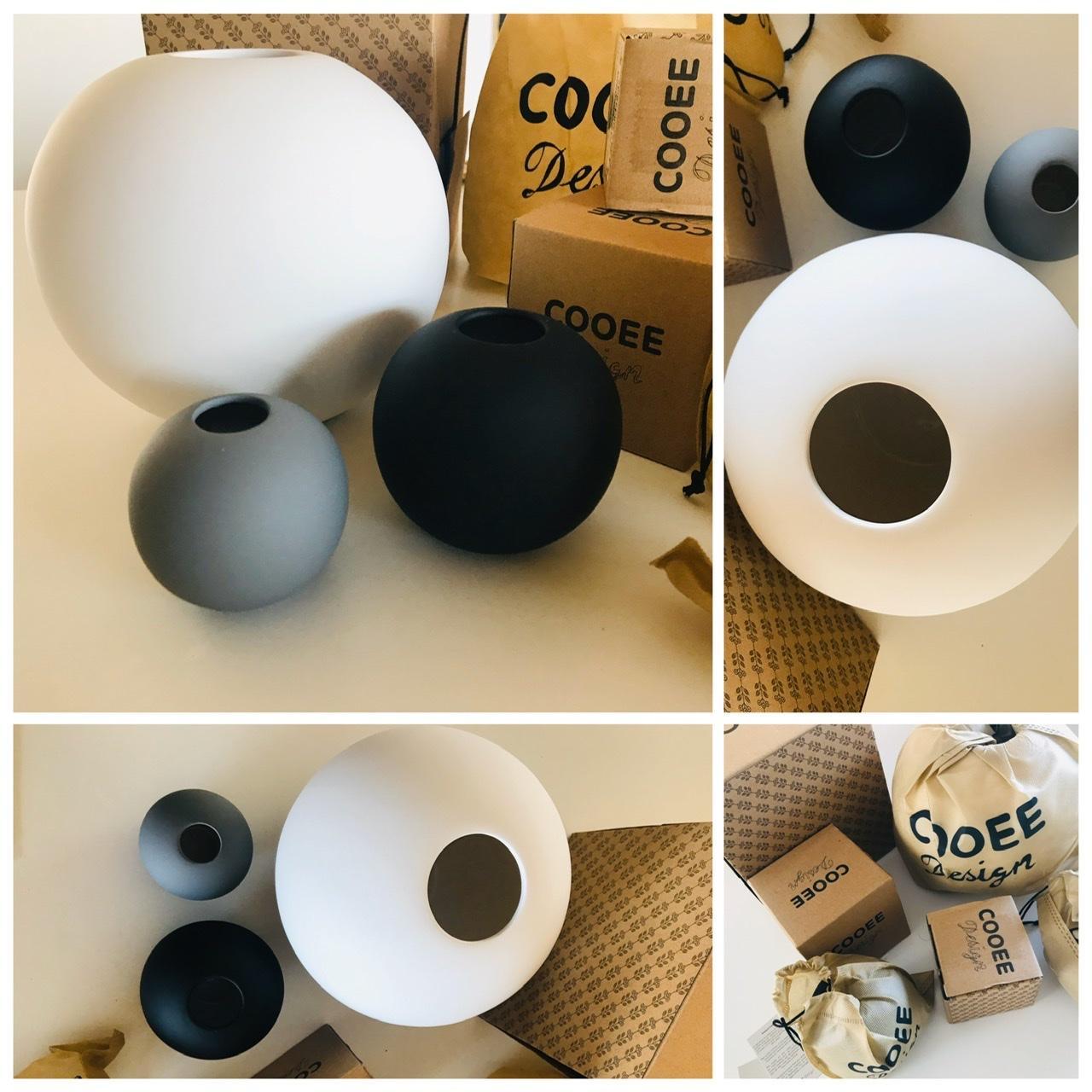 Naše L-ko - 2021 - stále dokončujeme - Nové keramické vázy Cooee - samatový povrch a už i samotné balenie bolo užasne