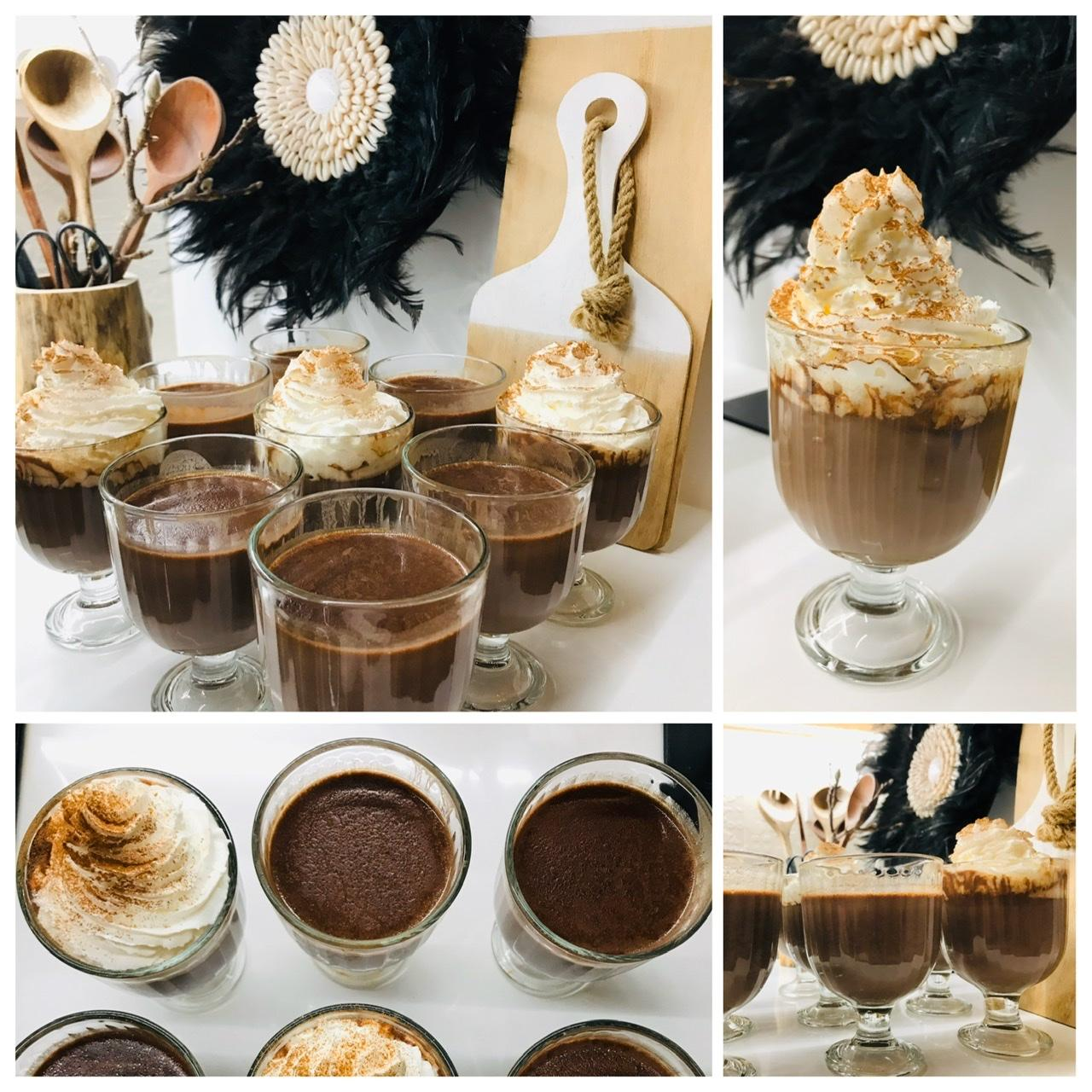 Naše L-ko - 2021 - stále dokončujeme - Horká čokoláda na víkend od dcérky, z horkej bio čokolády Vivani