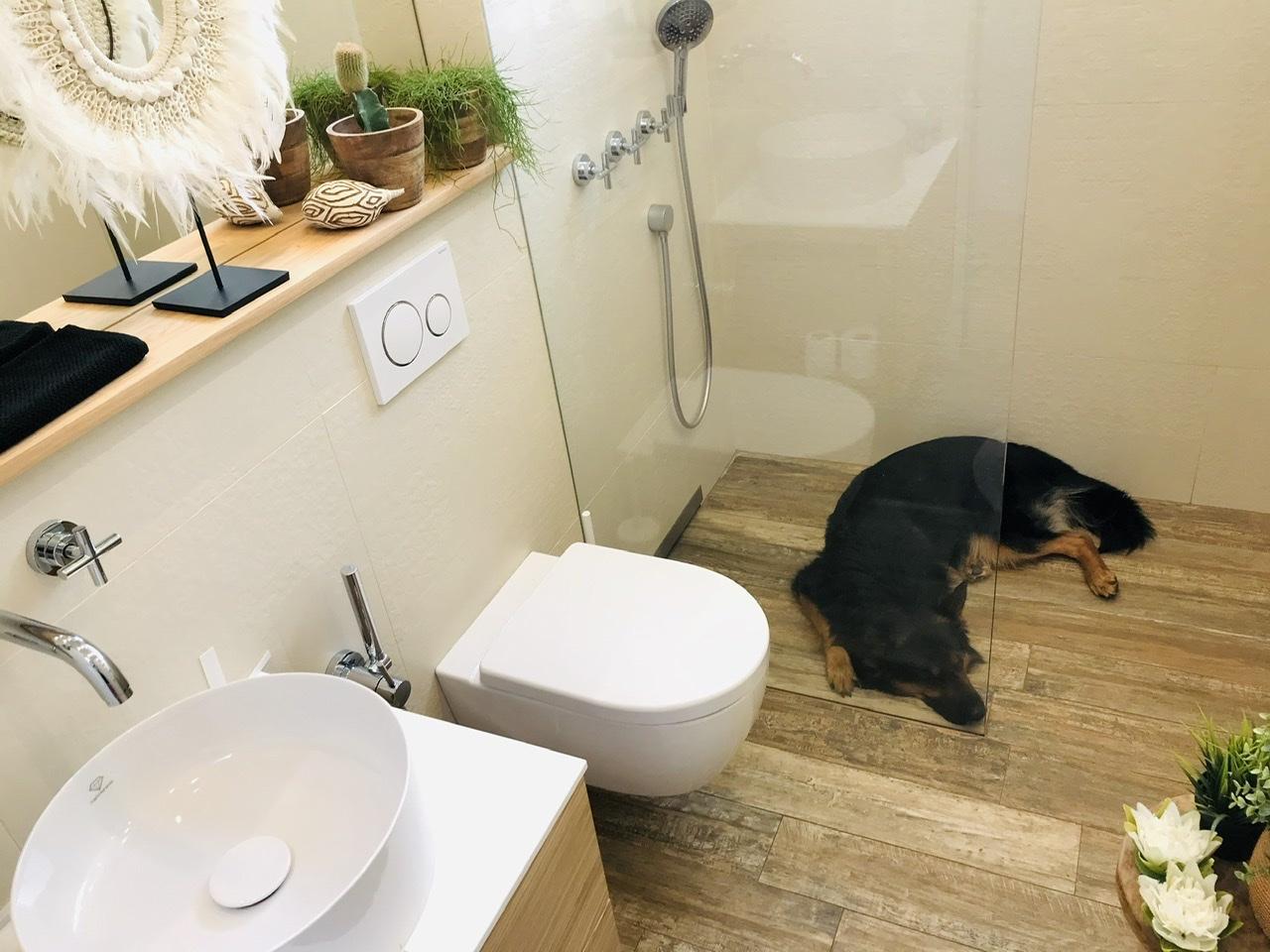 Naše L-ko - 2021 - stále dokončujeme - sprcha je i dobré odpočinkové a chladiace miesto :D