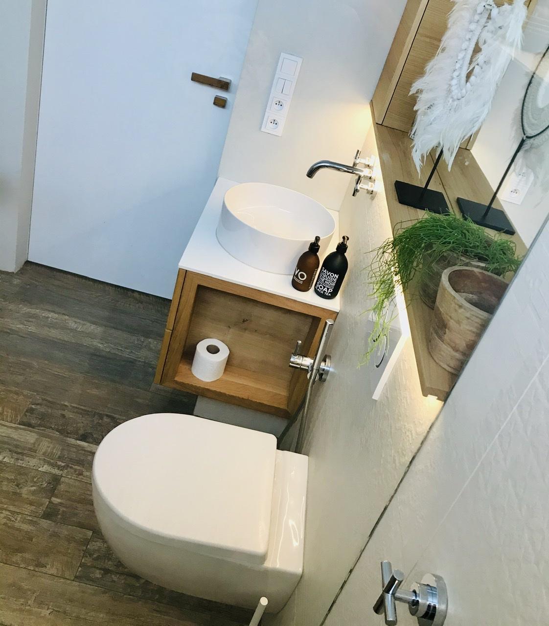 Naše L-ko - 2021 - stále dokončujeme - Malá kúpeľňa