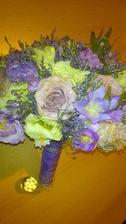 moja svadobná kytička :)
