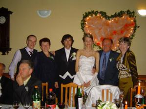 Krstní rodicia a Lubosko