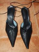 Sandále na šnurovanie s plnou špičkou , 39