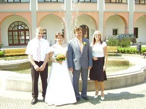 Opět my dva zase na svatbě