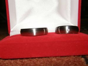 Naše svatební prstýnky