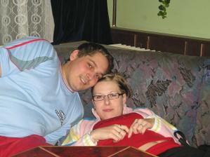 Na Silvestra v roce 2004