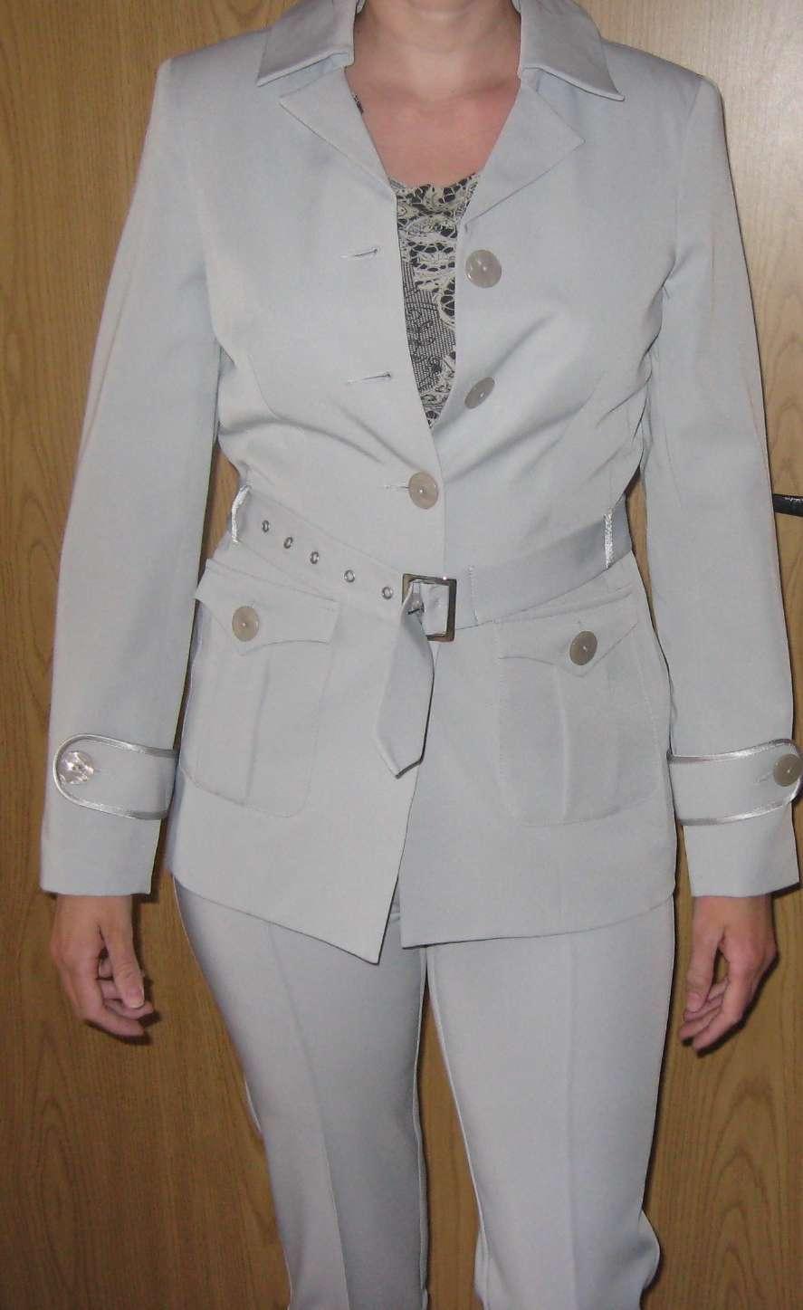 Dámsky nohavicové kostymy c.36 a c.38 - Obrázok č. 1