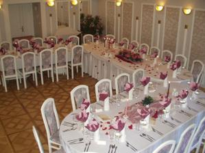 takto vyzera v hoteli Satel v Levoci, kde sa bude veselit
