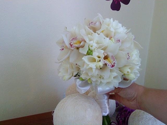 Aj já sa chystám - kombinované s orchideí