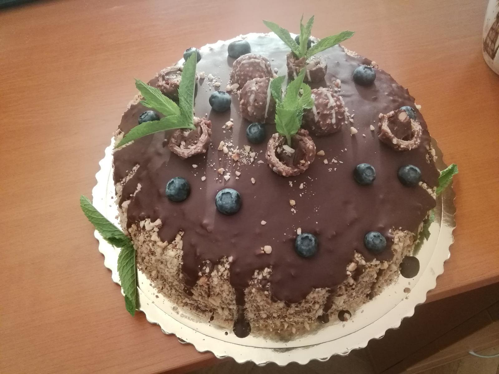 Torty - Ferrero torta