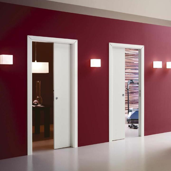 Inšpirácie posuvné dvere a iné dvere, šatníky a vstavané skrine - presne takto budeme musieť riešiť dvere kúpeľňa a toaleta....