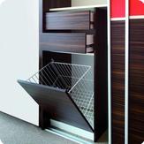 Inšpirácie posuvné dvere a iné dvere, šatníky a vstavané skrine - takýto košík s výkolnými dvierkami keby vedeli vyrobiť ako kúpeľňovú skrinku pod umyvadlo...