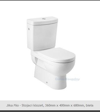 Inšpirácie do kúpeľne - Jika Mio