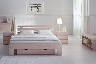 buková posteľ Zane