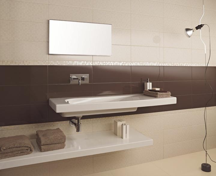 Inšpirácie do kúpeľne - Tento obklad sa mi páči.