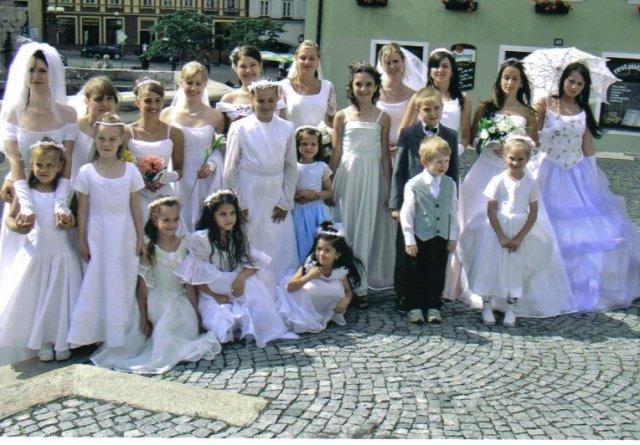 Jen tak pro inspiraci - slet nevěst :-)