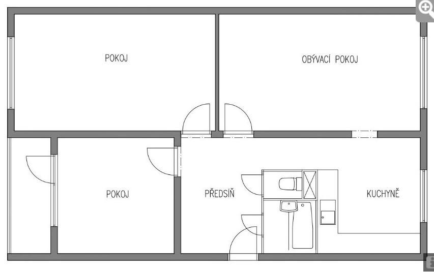 Možno sa niekomu zíde - prerobený panelákový byt. Podľa mňa celkom šikovne. - Obrázok č. 1