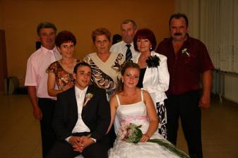 moja mamina, dedinos babinou, krstný rodičia, ujo Vlado