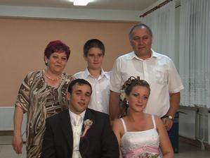 Miškova teta Danka s manž. a s Dodkom