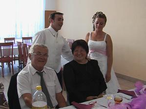 Miškovi krstný rodičia