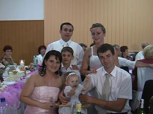 Miškova sesternica s krásnou rodinkou