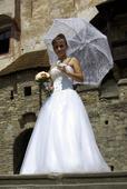 Svadobné šatočky pre nižšie nevesty, 34