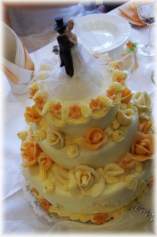 Katarína Fidesová{{_AND_}}Jaroslav Betkov - hlavná svadobná torta