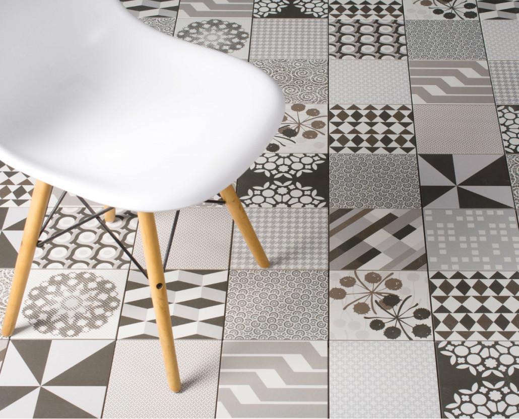 Novinky v keramické dlažbě Neocim - Patchwork Kerion 20x20 cm