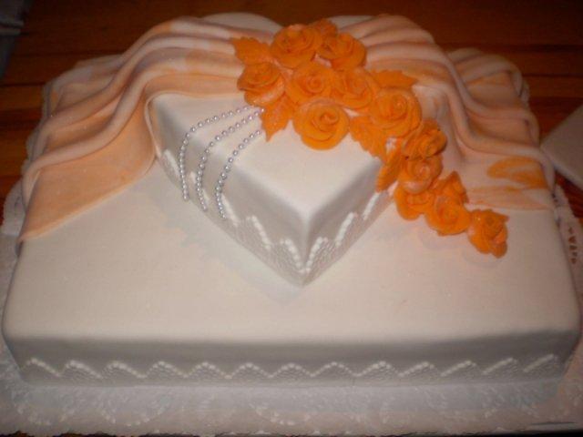 Lenka a Maťo - ...svadobná torta...