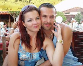Ja a môj manžílek na našej dovolenke v Bulharsku