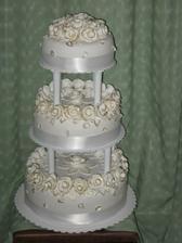 poschodová torta
