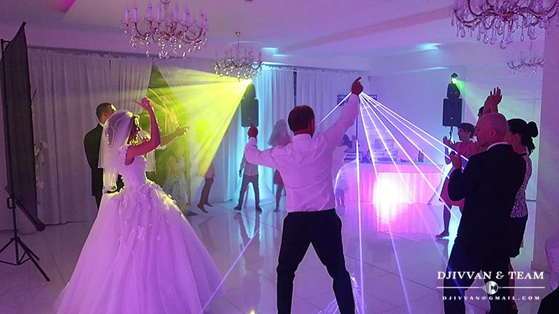 djivvan - Dj Ivvan & Team na svadbu Hotel Sebastian parket