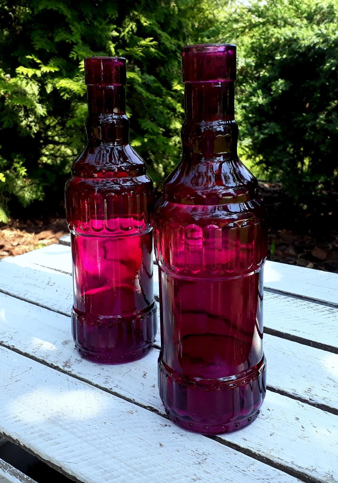 Dekorační láhev / vázička - Obrázek č. 1