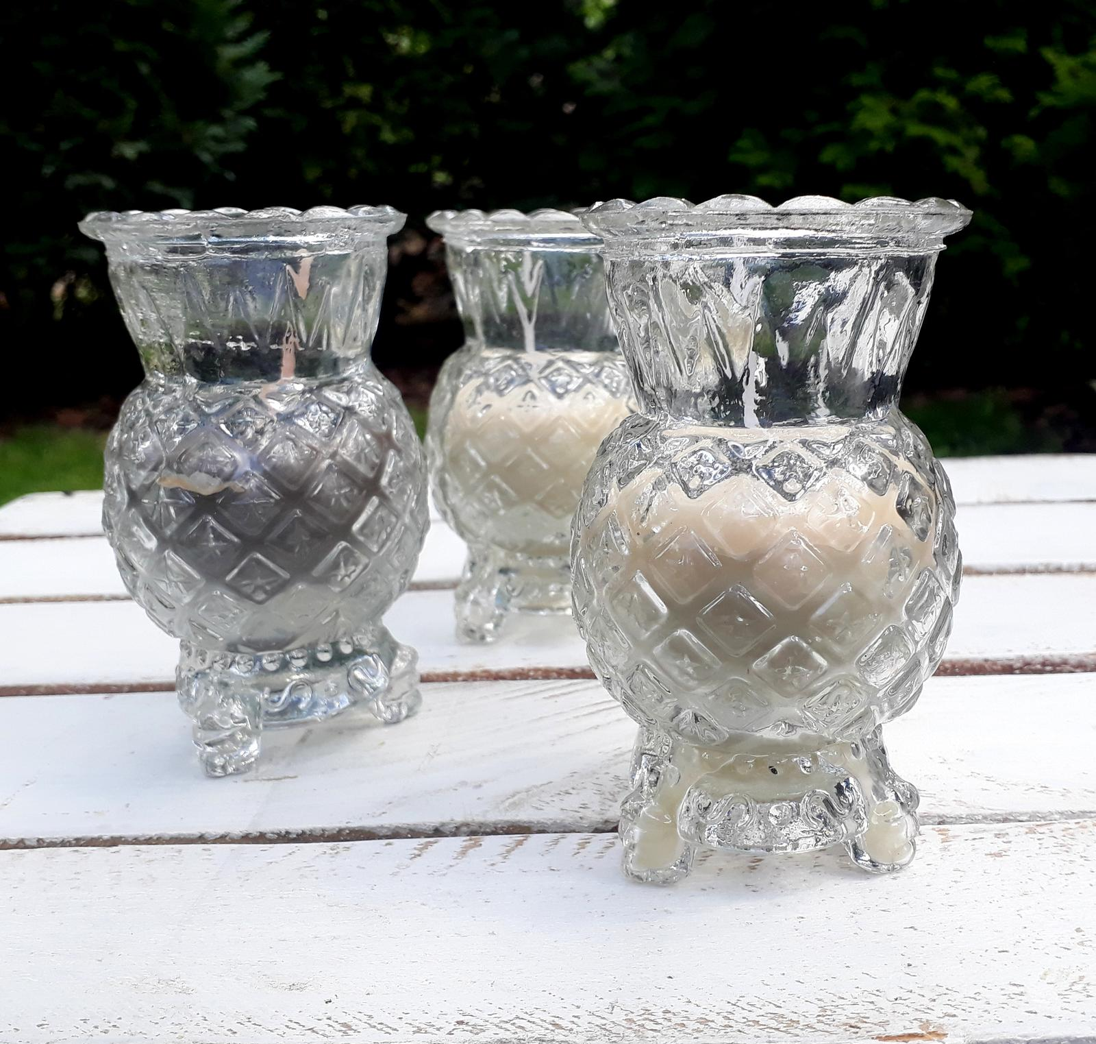 Vintage svíčka - Obrázek č. 1