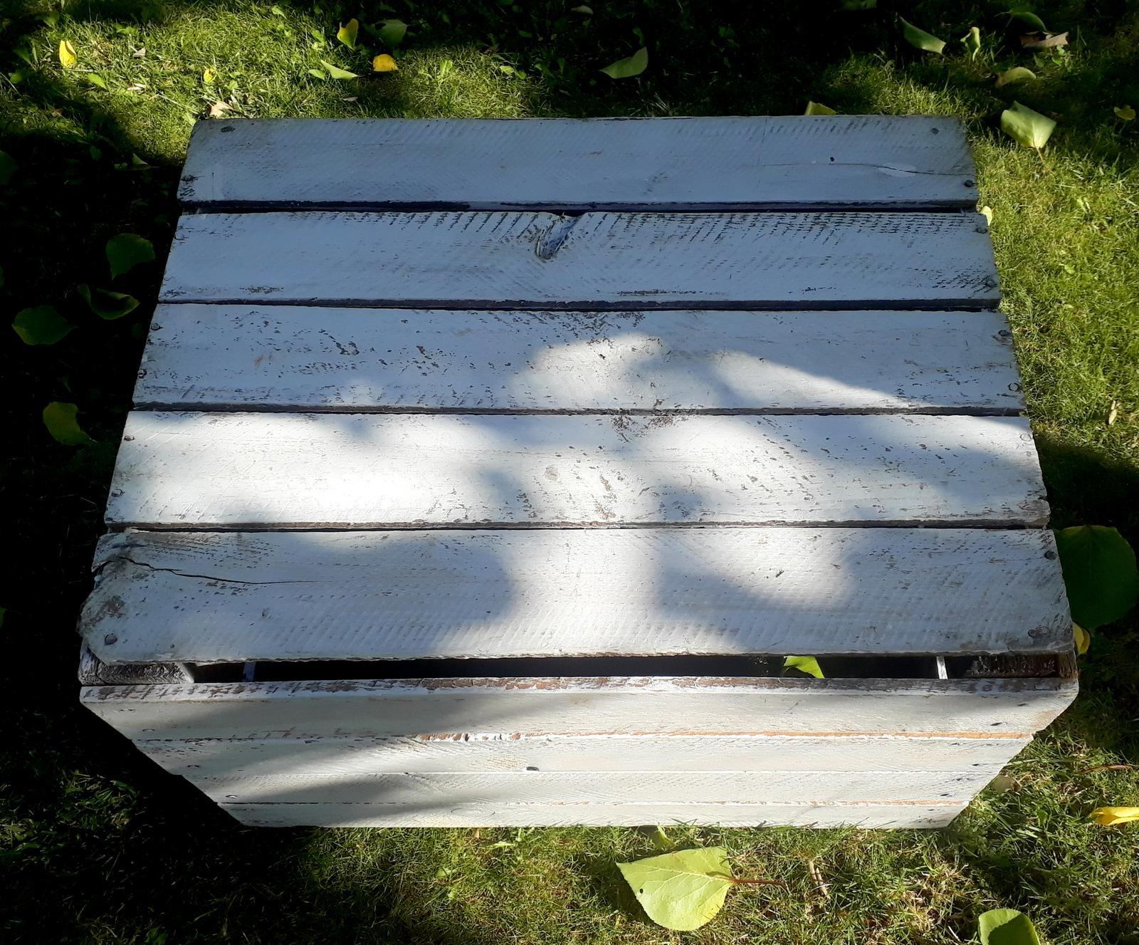 Dřevěná bedýnka - Obrázek č. 1