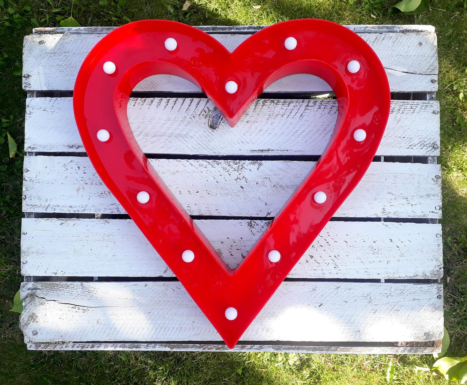 Svítící srdce - rezervováno - Obrázek č. 1