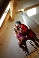 Intimní moment s mamkou..:-)