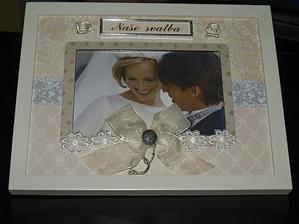 rámeček na naší svatební fotku