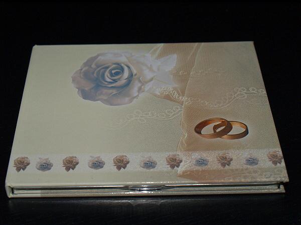ORANŽOVÁ SVATBA - obal na svatební DVD