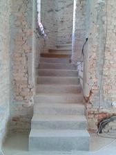 nová část schodiště